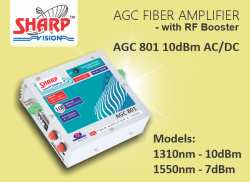 AGC FIBER AMPLIFIER - with RF Booster