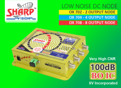OX 708 / OX 704 / OX 702 LOW NOISE DC NODES