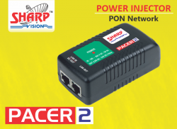 Power Injector with built in Adapter